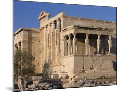 Caryatid Portico, Erechthion, Acropolis, UNESCO World Heritage Site, Athens, Greece, Europe-Thouvenin Guy-Mounted Photographic Print