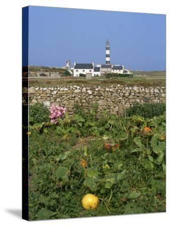 Creac'H Lighthouse, Ouessant Island, Finistere, Brittany, France, Europe-Thouvenin Guy-Stretched Canvas Print