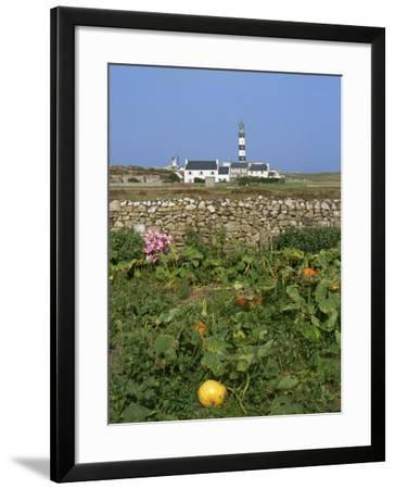 Creac'H Lighthouse, Ouessant Island, Finistere, Brittany, France, Europe-Thouvenin Guy-Framed Photographic Print