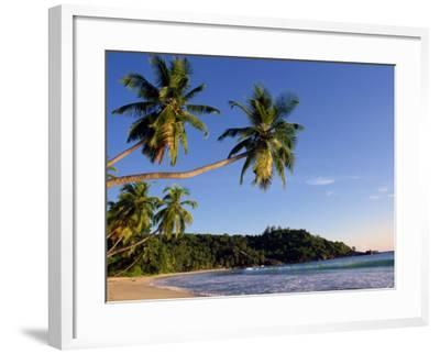 Takamata Beach, South Mahe Island, Seychelles, Indian Ocean, Africa-Stanley Storm-Framed Photographic Print