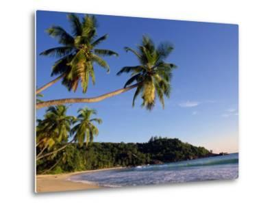 Takamata Beach, South Mahe Island, Seychelles, Indian Ocean, Africa-Stanley Storm-Metal Print