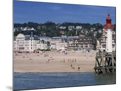 Lighthouse and Pier, Trouville, Basse Normandie, France, Europe-Thouvenin Guy-Mounted Photographic Print
