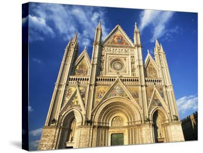 Facade of the Cathedral, Orvieto, Umbria, Italy, Europe-Tomlinson Ruth-Stretched Canvas Print
