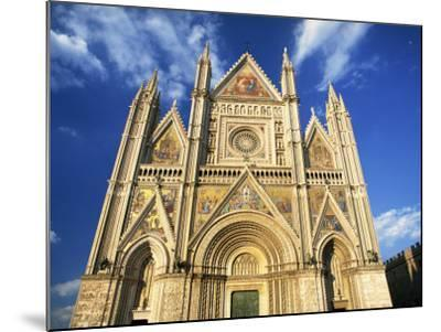 Facade of the Cathedral, Orvieto, Umbria, Italy, Europe-Tomlinson Ruth-Mounted Photographic Print