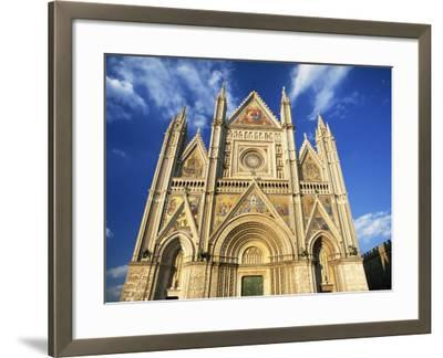 Facade of the Cathedral, Orvieto, Umbria, Italy, Europe-Tomlinson Ruth-Framed Photographic Print