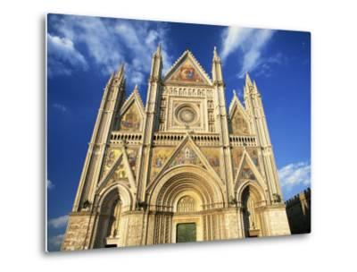 Facade of the Cathedral, Orvieto, Umbria, Italy, Europe-Tomlinson Ruth-Metal Print