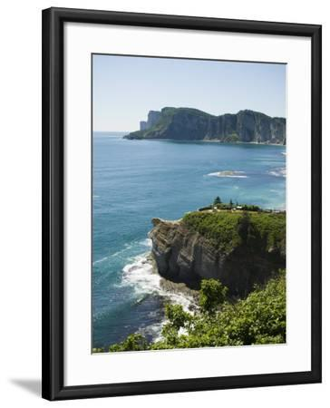 Gaspe, Gaspe Peninsula, Province of Quebec, Canada, North America-Snell Michael-Framed Photographic Print