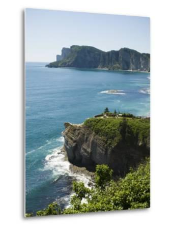 Gaspe, Gaspe Peninsula, Province of Quebec, Canada, North America-Snell Michael-Metal Print