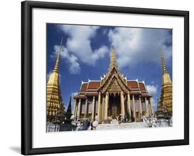Royal Pantheon at Wat Phra Keo in the Grand Palace, Bangkok, Thailand, Southeast Asia-Tomlinson Ruth-Framed Photographic Print