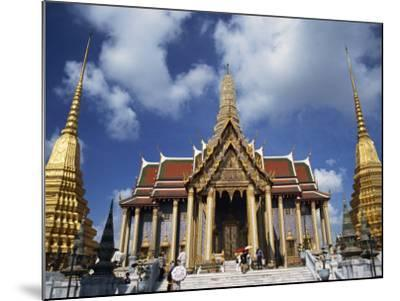 Royal Pantheon at Wat Phra Keo in the Grand Palace, Bangkok, Thailand, Southeast Asia-Tomlinson Ruth-Mounted Photographic Print