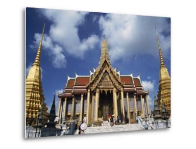 Royal Pantheon at Wat Phra Keo in the Grand Palace, Bangkok, Thailand, Southeast Asia-Tomlinson Ruth-Metal Print