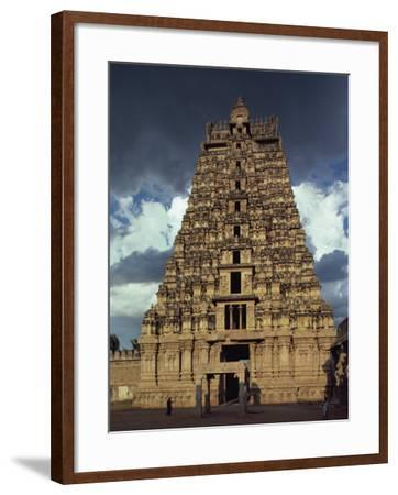 Gateway Shrine, Srirangam Temple, Tamil Nadu State, India-Woolfitt Adam-Framed Photographic Print