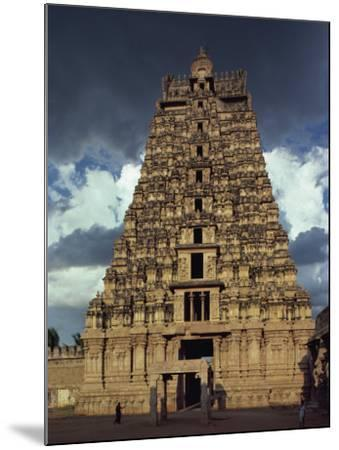 Gateway Shrine, Srirangam Temple, Tamil Nadu State, India-Woolfitt Adam-Mounted Photographic Print