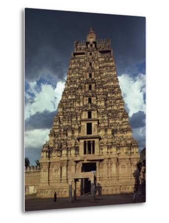 Gateway Shrine, Srirangam Temple, Tamil Nadu State, India-Woolfitt Adam-Metal Print
