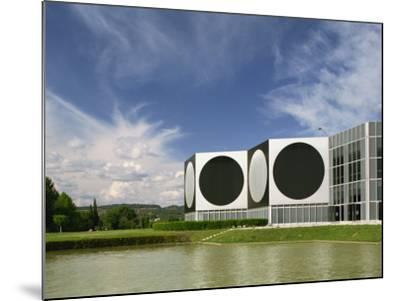 Modern Buildings of the Vasarely Foundation at Aix En Provence, Provence, France, Europe-Westwater Nedra-Mounted Photographic Print