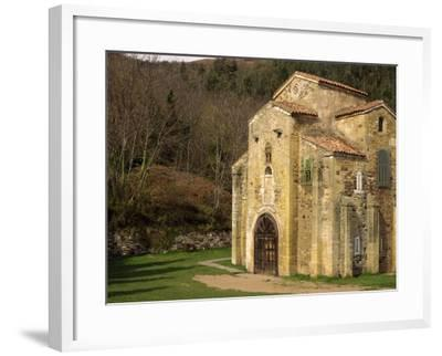 Royal Chapel of Summer Palace of Ramiro I, at San Miguel De Lillo, Oviedo, Asturias, Spain-Westwater Nedra-Framed Photographic Print