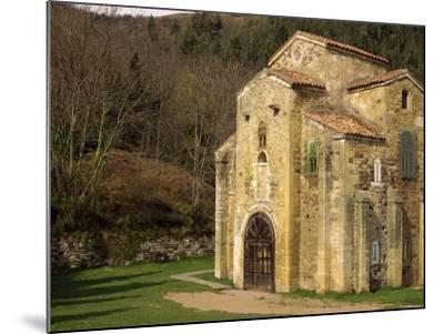 Royal Chapel of Summer Palace of Ramiro I, at San Miguel De Lillo, Oviedo, Asturias, Spain-Westwater Nedra-Mounted Photographic Print