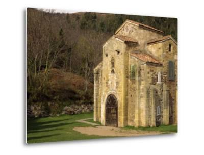 Royal Chapel of Summer Palace of Ramiro I, at San Miguel De Lillo, Oviedo, Asturias, Spain-Westwater Nedra-Metal Print