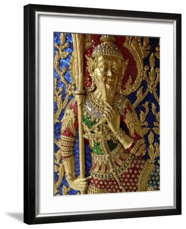Wat Ratchabophit, Bangkok, Thailand, Southeast Asia-De Mann Jean-Pierre-Framed Photographic Print