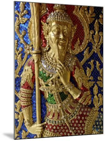 Wat Ratchabophit, Bangkok, Thailand, Southeast Asia-De Mann Jean-Pierre-Mounted Photographic Print
