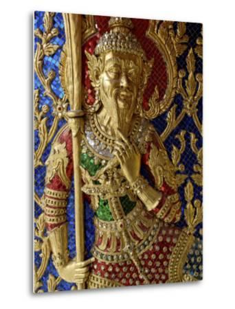 Wat Ratchabophit, Bangkok, Thailand, Southeast Asia-De Mann Jean-Pierre-Metal Print