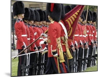 Changing the Guard Ceremony, Parliament Hill, Ottawa, Ontario, Canada, North America-De Mann Jean-Pierre-Mounted Photographic Print