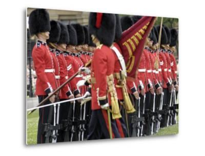 Changing the Guard Ceremony, Parliament Hill, Ottawa, Ontario, Canada, North America-De Mann Jean-Pierre-Metal Print
