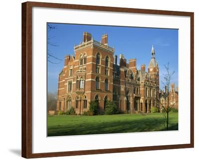 Kelham Hall, Built 1676, Rebuilt after Fire in 1857, Newark, Nottinghamshire, United Kingdom-Waltham Tony-Framed Photographic Print