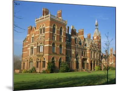 Kelham Hall, Built 1676, Rebuilt after Fire in 1857, Newark, Nottinghamshire, United Kingdom-Waltham Tony-Mounted Photographic Print