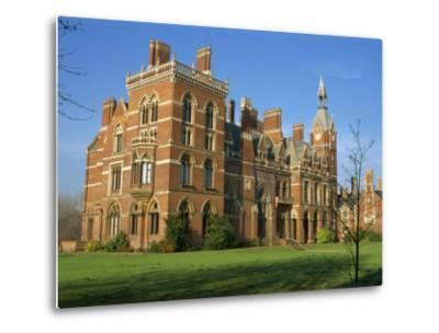 Kelham Hall, Built 1676, Rebuilt after Fire in 1857, Newark, Nottinghamshire, United Kingdom-Waltham Tony-Metal Print