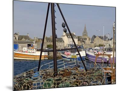 Roscoff Harbour, North Finistere, Brittany, France, Europe-De Mann Jean-Pierre-Mounted Photographic Print