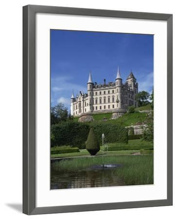 Dunrobin Castle, Sutherland, Scotland, United Kingdom, Europe--Framed Photographic Print