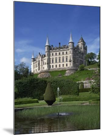 Dunrobin Castle, Sutherland, Scotland, United Kingdom, Europe--Mounted Photographic Print
