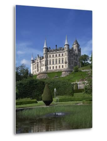 Dunrobin Castle, Sutherland, Scotland, United Kingdom, Europe--Metal Print