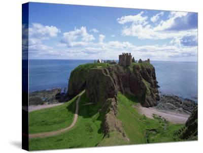 Dunnottar Castle, Near Stonehaven, Highlands, Scotland, United Kingdom, Europe--Stretched Canvas Print