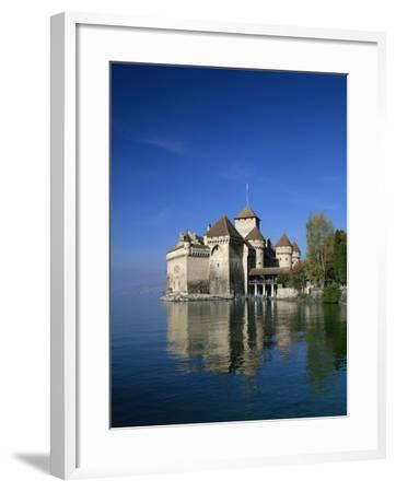 Chateau De Chillon on Lake Geneva, Switzerland, Europe--Framed Photographic Print
