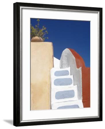 Imerovigli, Santorini, Cyclades, Greek Islands, Greece, Europe-Papadopoulos Sakis-Framed Photographic Print