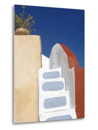Imerovigli, Santorini, Cyclades, Greek Islands, Greece, Europe-Papadopoulos Sakis-Metal Print
