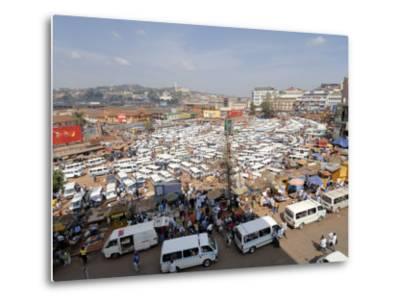 Nakasero Market, Kampala, Uganda, East Africa, Africa-Groenendijk Peter-Metal Print