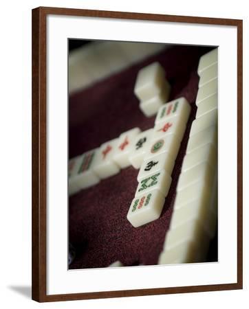 Mahjong Tiles, Dali, Yunnan, China-Porteous Rod-Framed Photographic Print