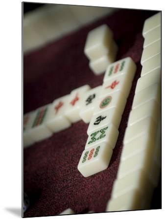 Mahjong Tiles, Dali, Yunnan, China-Porteous Rod-Mounted Photographic Print