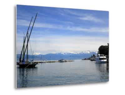 Port Des Mouettes, Lac Leman, Evian-Les Bains, Haute-Savoie, France, Europe-Richardson Peter-Metal Print