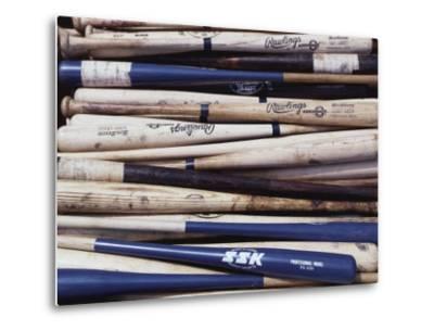 Baseball Bats-Paul Sutton-Metal Print