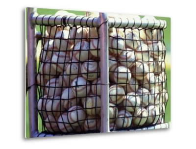 Baseballs--Metal Print