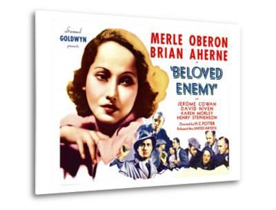 Beloved Enemy, 1936--Metal Print
