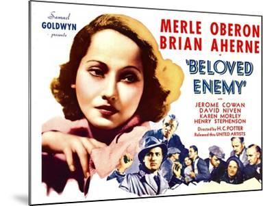Beloved Enemy, 1936--Mounted Photo