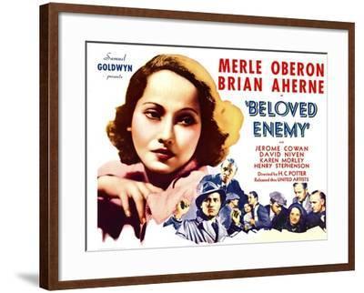 Beloved Enemy, 1936--Framed Photo