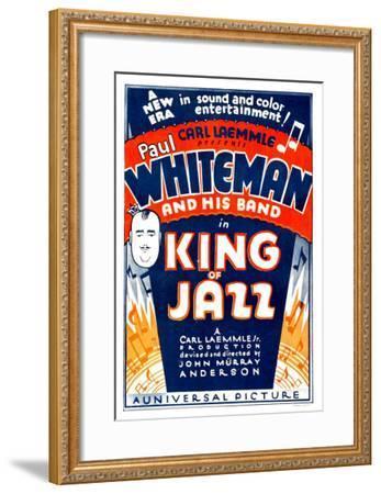 King of Jazz, 1930--Framed Photo