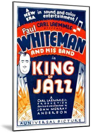 King of Jazz, 1930--Mounted Photo