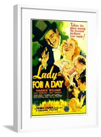 Lady for a Day, Warren William, May Robson, Guy Kibbee, 1933--Framed Photo